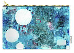 Abstract Art Blue Carry-all Pouch