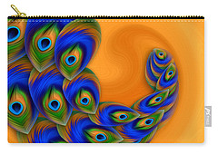 Abstract Art - Vanity Vortex By Rgiada Carry-all Pouch by Giada Rossi