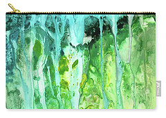 Abstract Art Waterfall Carry-all Pouch