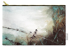 Abstract Barbwire Pasture Landscape Carry-all Pouch
