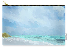 Abstract Beach Afternoon  Carry-all Pouch