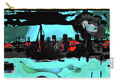 Abstract Bridge Of Lions Carry-all Pouch