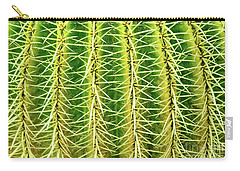 Abstract Cactus Carry-all Pouch by Delphimages Photo Creations