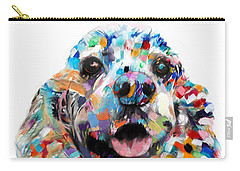 Abstract Cocker Spaniel Carry-all Pouch