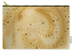 Carry-all Pouch featuring the photograph Abstract Coffee by Brian Roscorla