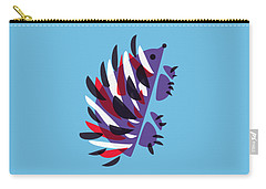 Abstract Colorful Hedgehog Carry-all Pouch
