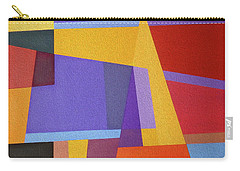 Abstract Composition 7 Carry-all Pouch