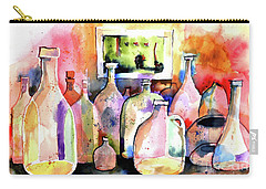 Abstract Containers Carry-all Pouch by Terry Banderas