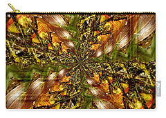 Abstract Cornfield 1 Carry-all Pouch