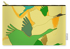 Abstract Cranes Carry-all Pouch