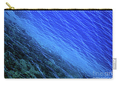 Abstract Crater Lake Blue Water Carry-all Pouch