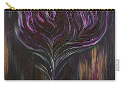 Abstract Dark Rose Carry-all Pouch
