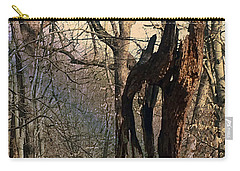 Abstract Dead Tree Carry-all Pouch
