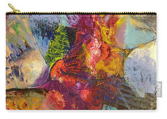 Abstract Depths Carry-all Pouch