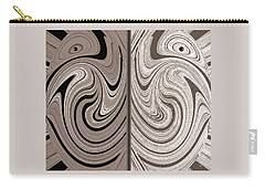 Abstract Desert Raptors Carry-all Pouch by Will Borden
