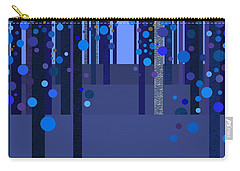 Abstract Dreamscape - Blues Carry-all Pouch