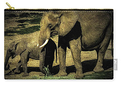 Abstract Elephants 23 Carry-all Pouch