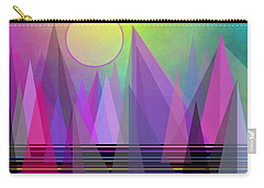 Abstract Elevation Carry-all Pouch by Kathleen Sartoris