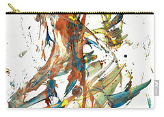 Carry-all Pouch featuring the painting Abstract Expressionism Painting Series 1039.050812 by Kris Haas