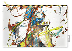 Carry-all Pouch featuring the painting Abstract Expressionism Painting Series 1040.050812 by Kris Haas