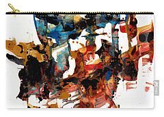 Abstract Expressionism Painting Series 750.102910 Carry-all Pouch by Kris Haas