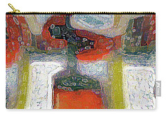 Abstract Floral Art 234 Carry-all Pouch