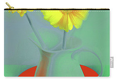 Abstract Floral Art 300 Carry-all Pouch