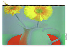 Abstract Floral Art 301 Carry-all Pouch