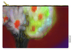 Abstract Floral Art 340 Carry-all Pouch