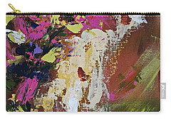 Abstract Floral Study Carry-all Pouch