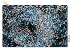 Abstract Floral Swirl No.2 Carry-all Pouch