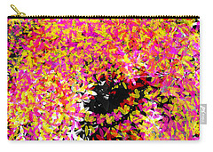 Abstract Floral Swirl No.3 Carry-all Pouch