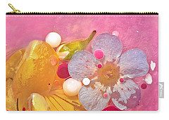 Abstract Flower 4 Carry-all Pouch