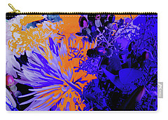 Abstract Flowers Of Light Series #1 Carry-all Pouch