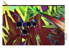 Abstract Flowers Of Light Series #10 Carry-all Pouch