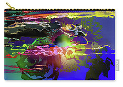 Abstract Flowers Of Light Series #11 Carry-all Pouch