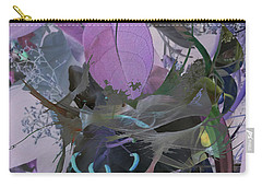 Abstract Flowers Of Light Series #12 Carry-all Pouch