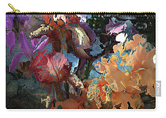Abstract Flowers Of Light Series #15 Carry-all Pouch