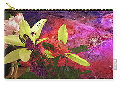 Abstract Flowers Of Light Series #16 Carry-all Pouch
