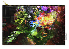 Abstract Flowers Of Light Series #17 Carry-all Pouch