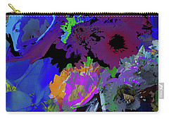 Abstract Flowers Of Light Series #18 Carry-all Pouch