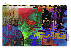Abstract Flowers Of Light Series #19 Carry-all Pouch