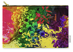 Abstract Flowers Of Light Series #2 Carry-all Pouch