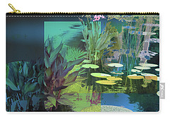 Abstract Flowers Of Light Series #20 Carry-all Pouch