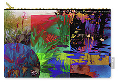 Abstract Flowers Of Light Series #21 Carry-all Pouch