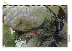Abstract Flowers Of Light Series #3 Carry-all Pouch