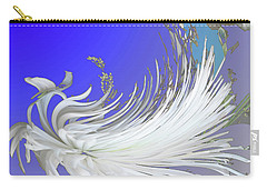 Abstract Flowers Of Light Series #4 Carry-all Pouch