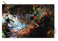 Abstract Flowers Of Light Series #5 Carry-all Pouch