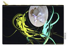 Abstract Flowers Of Light Series #6 Carry-all Pouch