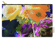 Abstract Flowers Of Light Series #7 Carry-all Pouch